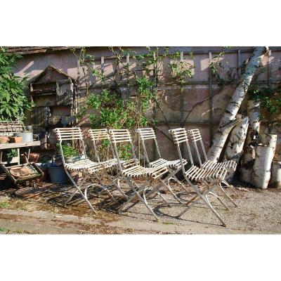 6 Arras Folding Chairs