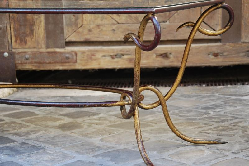 Coffee Table Attributed To René Prou-photo-2