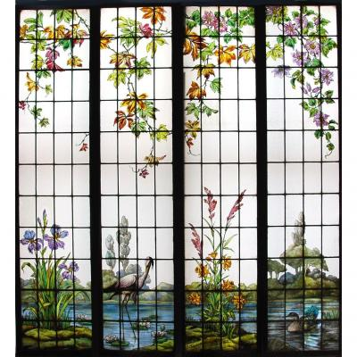 Stained Glass Stained Glass V112 Champigneulle