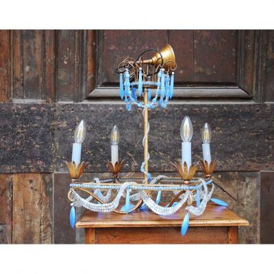Lustre Opaline Style Charles X