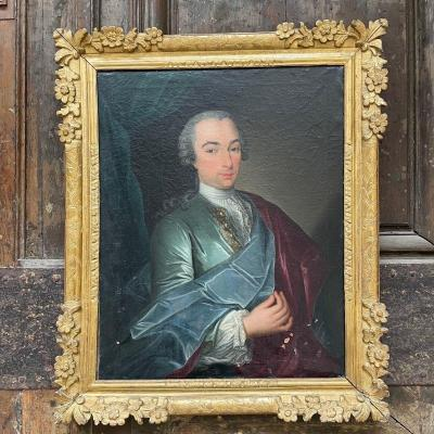 Portrait Of A 18th Century Gentleman