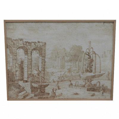 Drawing Attributed To Giovanni Battista Pittoni (1687-1767)