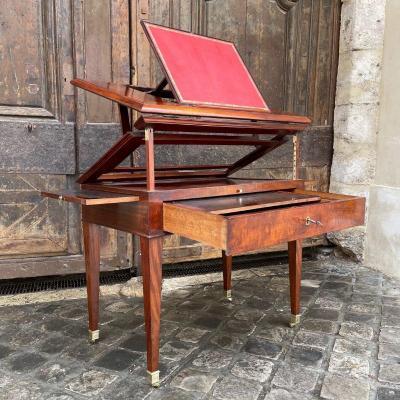Table Dite à La Tronchin Directoire Period Late 18th Century