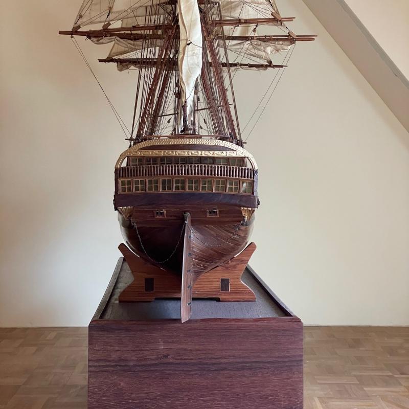 Grande maquette du vaisseau « Le Superbe » (1782-1795)-photo-4