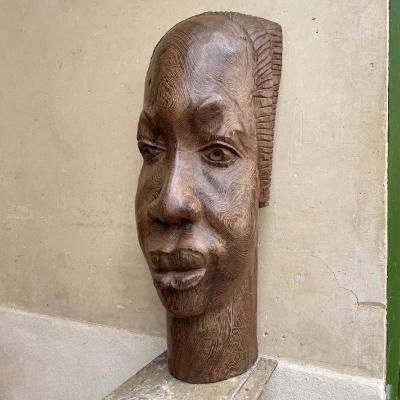 Large African Sculpture