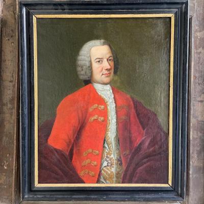 Portrait d'Un Gentilhomme d'époque 18ème