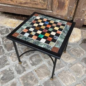Table Basse échiquier