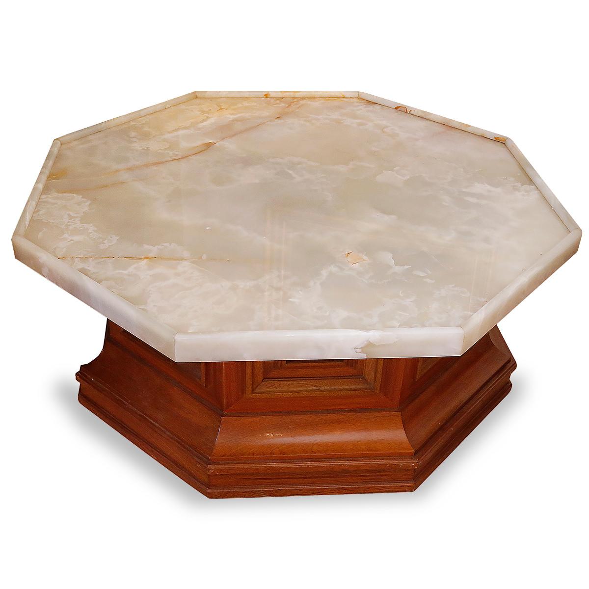 Table Basse Octogonale années 50
