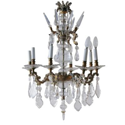 Chandelier With Pendants 1900