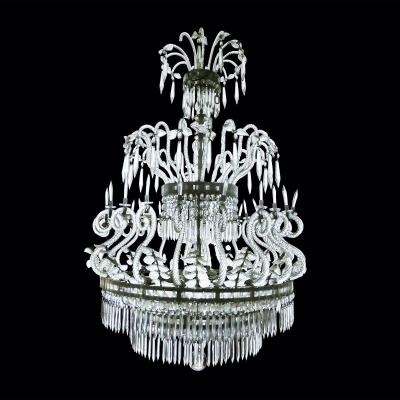 1940s Crystal Chandelier