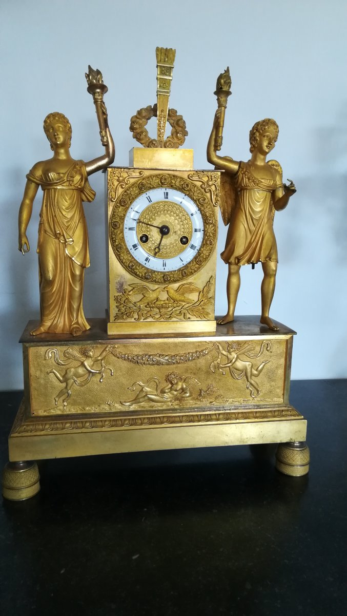 Bronze Clock