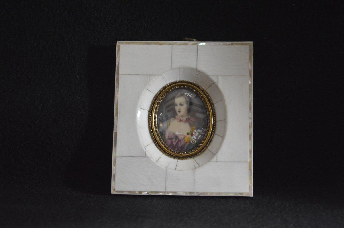 Miniature Marquise De Pompadour