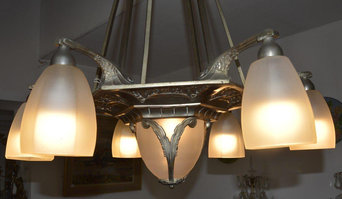 Art Deco Chandelier-photo-1