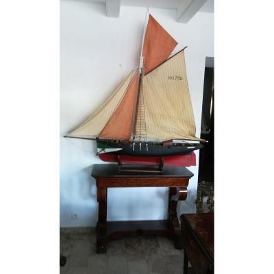 Grande maquette voilier