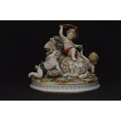 Polychrome Porcelain