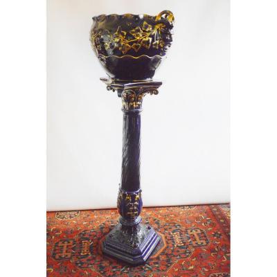 Selette Column Cache Pot