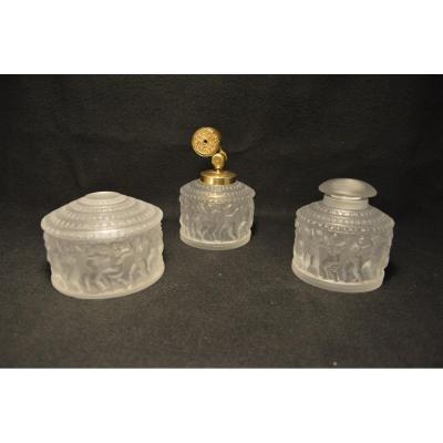 Lalique Toilet Set