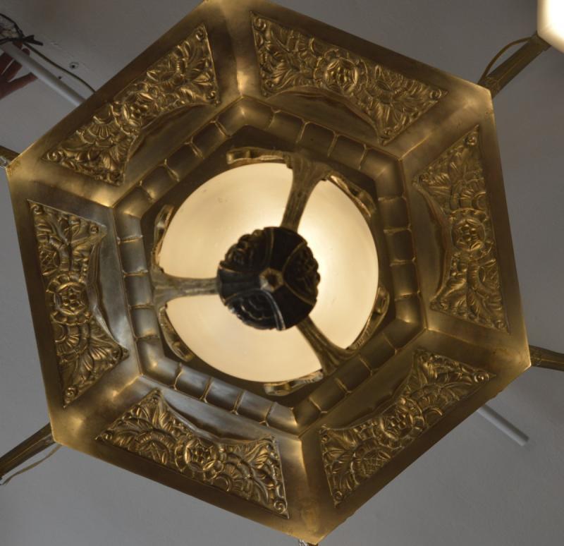 Art Deco Chandelier-photo-2