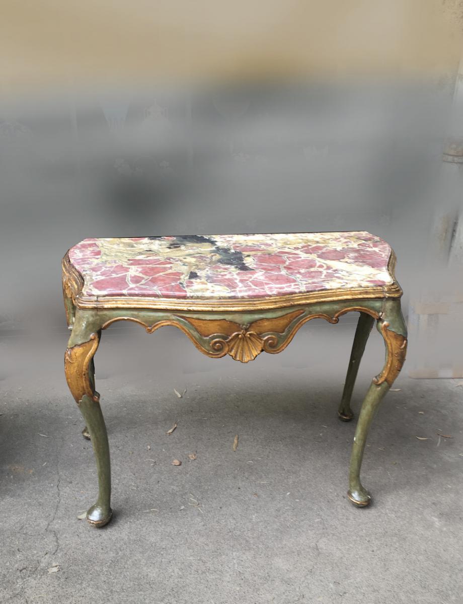 Console XVIIIème Venise