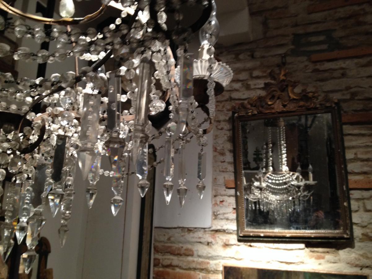 lustre perl italie xix lustres. Black Bedroom Furniture Sets. Home Design Ideas