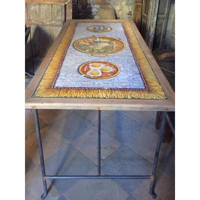 Table Carrelage Portugais