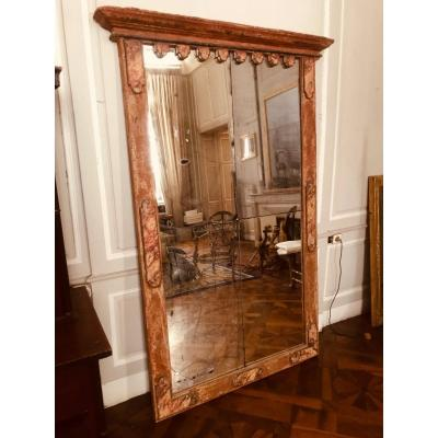 Large Mirror A Decor Faux Marbles