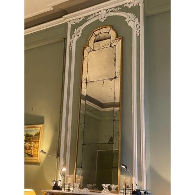 Grand Miroir Italien début XIX eme
