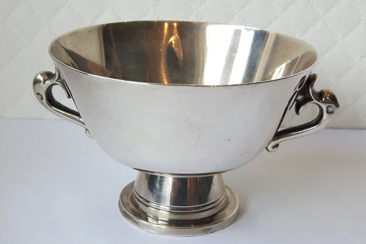 TÊtard FrÈres (goldsmiths) And Léon Maeght - Silver Cup, Dolphins Prize