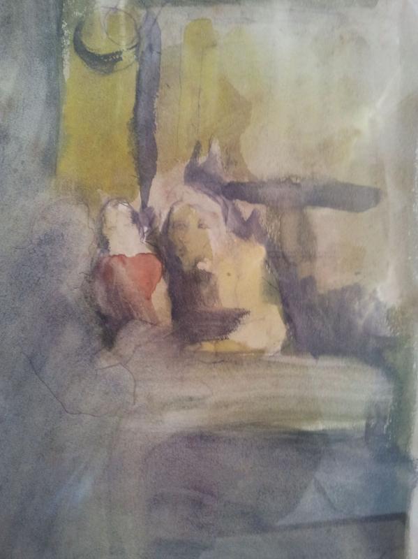 Pierre Ambrogiani (ajaccio 1907-1985) - Watercolor-photo-3
