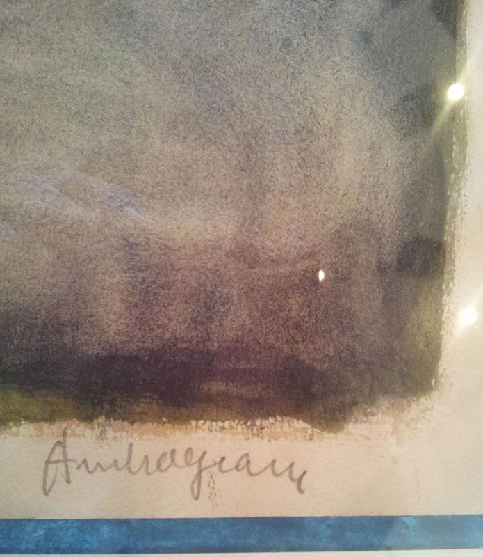 Pierre Ambrogiani (ajaccio 1907-1985) - Watercolor-photo-4