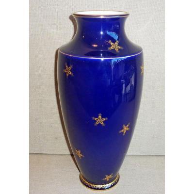 MANUFACTURE DE SÈVRES  (depuis 1740) - Vase En Porcelaine