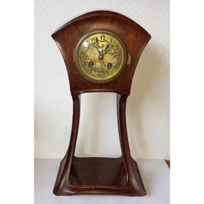 Louis MAJORELLE (1859-1926) - Pendule Art Nouveau