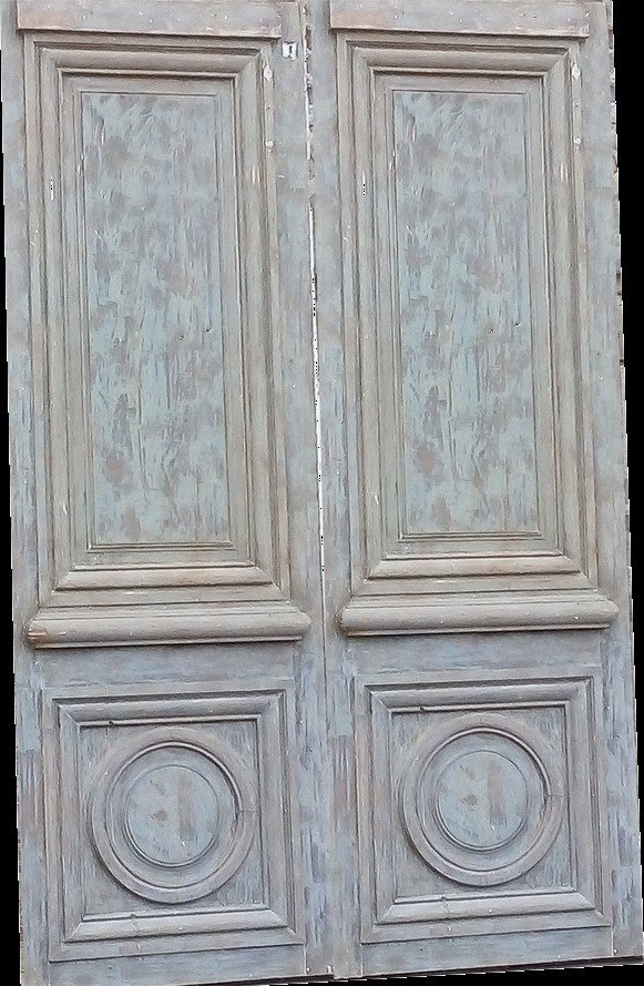 Antique Louis XIV Style Door - Decoration - Woodwork - Doors