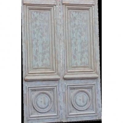 Antique Louis XIV Style Door - Decoration - Woodwork - Doors