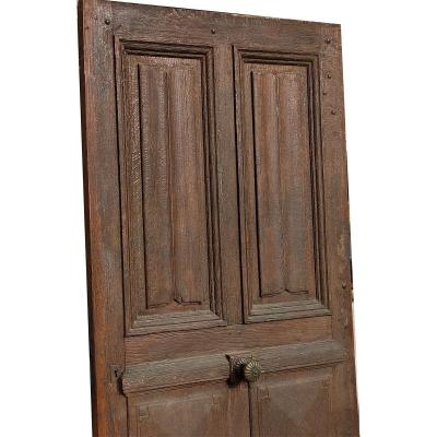 Old Oak Entrance Door Folds Of Towel Transom Doors