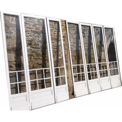 2 Series Of French Windows Doors Windows Old Workshop Door