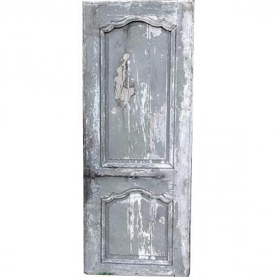 Porte Ancienne époque XVIIIème & sa patine du temps & Ses Belles Ferronneries Portes Boiserie