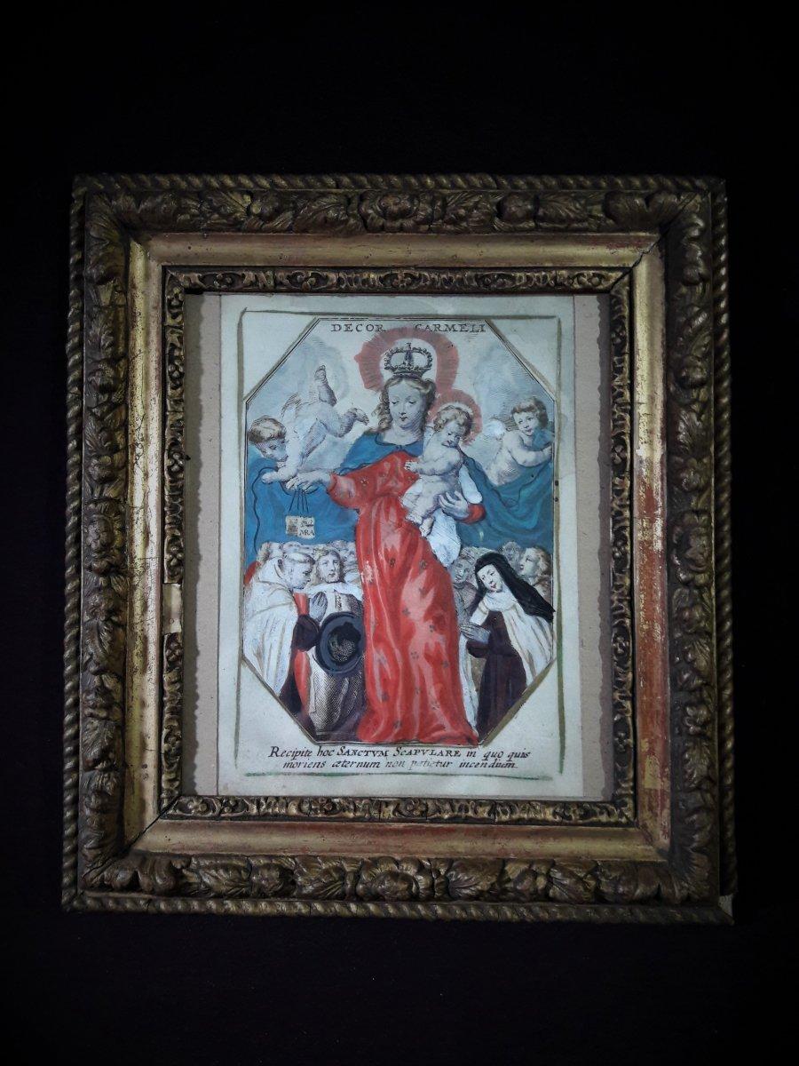 Virgin Mary Protecting Simon