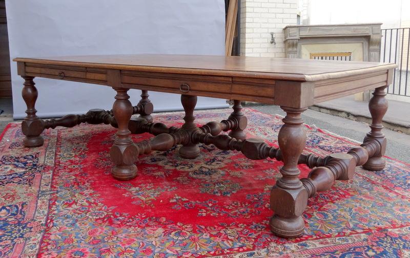 Importante Table Epoque XIXème Siècle