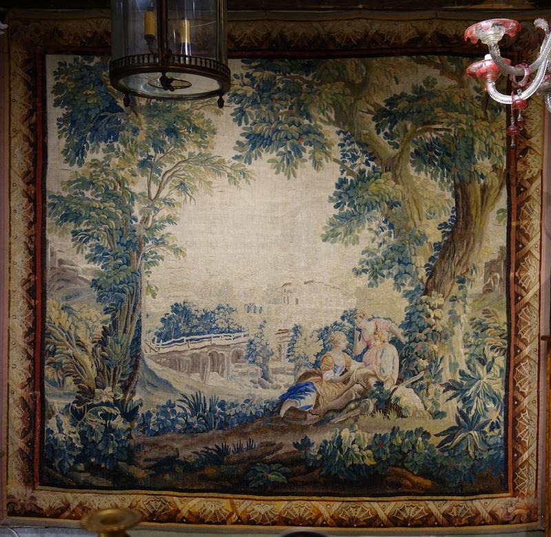 Tapisserie Aubusson Epoque XVIIIème Siècle