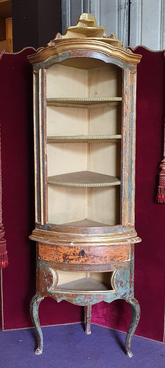Meuble d'Encoignure Epoque Louis XV