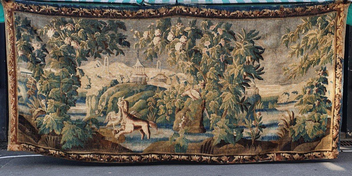 Tapisserie Aubusson Epoque Louis XIV