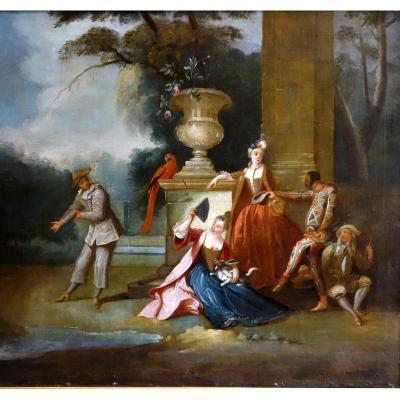 Tableau époque XVIIIème Siècle