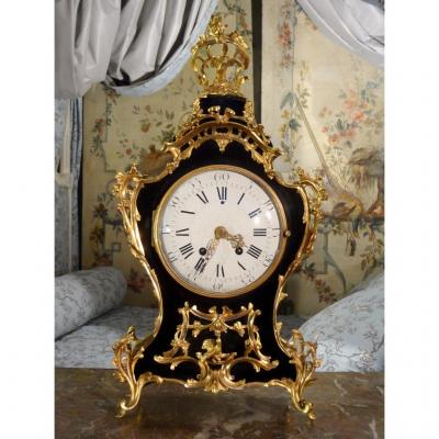 Lacquered Wood Cartel Louis XV