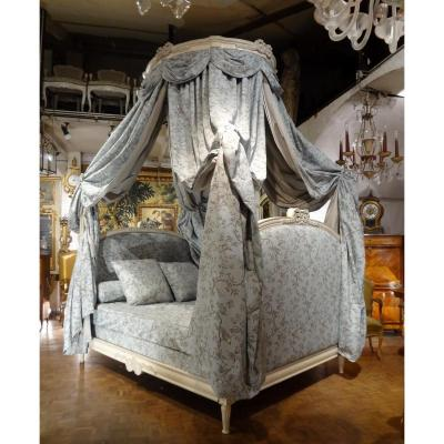 Bed In Polish Style Louis XVI