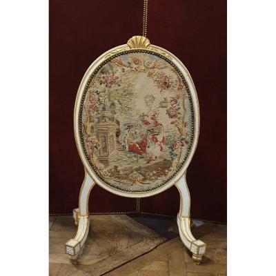 Ecran De Cheminée Epoque Louis XVI