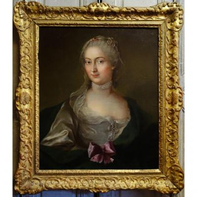 Portrait Of A Quality Woman From The Eighteenth Century