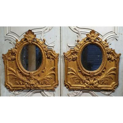 Pair Of Regency Period Mirrors
