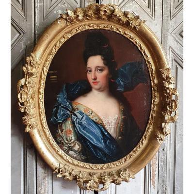Portrait Of Woman Eighteenth Century