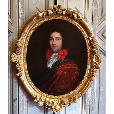 Portrait d'Homme Epoque Régence